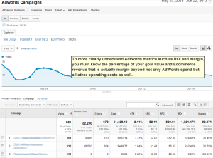 AdWords Clicks report